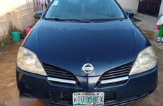 Selling blue 2005 Nissan Primera manual at price ₦700,000