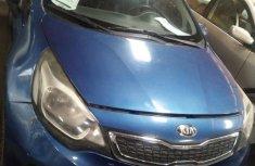 Sell blue 2012 Kia Rio manual at mileage 89,745