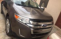 Sell grey/silver 2012 Ford Edge automatic at price ₦4,700,000 in Lagos