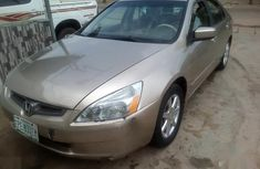 Sell gold 2003 Honda Accord sedan automatic