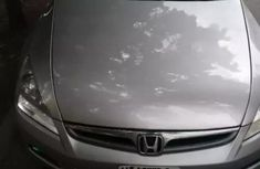 Honda Accord 2007 2.4 Silver for sale