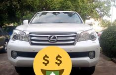 Selling white 2012 Lexus GX suv / crossover in good condition