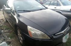 Used black 2003 Honda Accord car automatic at attractive price