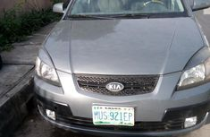 Grey 2009 Kia Rio hatchback automatic at mileage 132,212 for sale