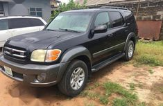 Black 2004 Toyota Sequoia car at attractive price in Lagos