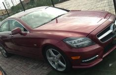 Sell cheap red 2012 Mercedes-Benz CLS automatic