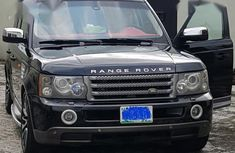 Sell cheap black 2006 Land Rover Range Rover Sport at mileage 98,370 in Warri