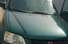 Certified green 2000 Honda CR-V automatic in good condition