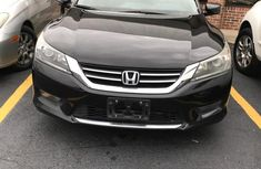 Selling black 2014 Honda Accord automatic at price ₦4,700,000 in Lagos