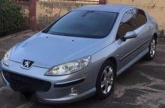 Clean 2005 Peugeot 407 sedan manual for sale