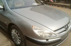 Peugeot 607 Automatic 2004 Silver for sale
