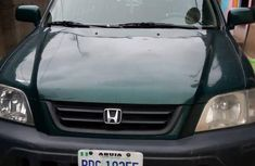 Clean and neat used green 1999 Honda CR-V automatic in Abuja at cheap price