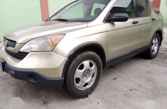 Used gold 2007 Honda CR-V automatic car at attractive price