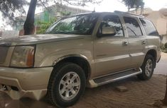 Selling 2004 Cadillac Escarlade in good condition at price ₦1,600,000 in Abuja