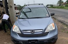 Well maintained blue 2007 Honda CR-V suv / crossover automatic for sale