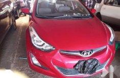 Sell well kept red 2014 Hyundai Elantra sedan at price ₦4,600,000