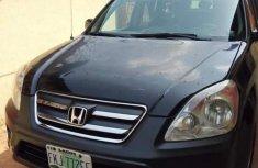 Sell black 2006 Honda CR-V suv / crossover at mileage 6,580 in Lagos