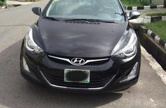 Black 2015 Hyundai Elantra for sale at price ₦3,500,000