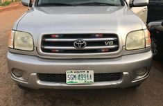 Need to sell cheap used grey/silver 2004 Toyota Sequoia suv