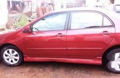 Toyota Corolla Sedan Automatic 2003 Red