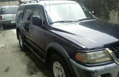 Mitsubishi Montero 2003 Black for sale