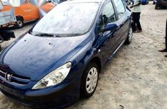 Peugeot 307 2004 Blue for sale