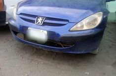 Sell blue 2001 Peugeot 307 manual at mileage 147,000 in Lagos