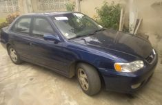 Sell blue 2001 Toyota Corolla automatic in Abeokuta at cheap price