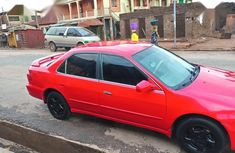 Well maintained red 2000 Honda Accord at mileage 5,265 for sale