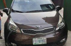 Kia Rio 2013 Brown for sale