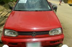 Selling 2000 Volkswagen Golf manual in good condition