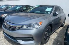 Selling 2017 Honda Accord in good condition at mileage 3,973