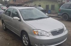 Used grey/silver 2002 Toyota Corolla automatic at mileage 99,000 for sale