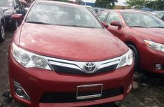 Foreign Used Toyota Camry XLE 2013 Model Red