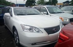 Foreign Used Lexus ES 350 2008 Model White for Sale