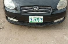 Hyundai Accent 2008 1.6 Black for sale