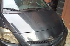 Toyota Yaris 2007 Sedan Automatic Gray for sale