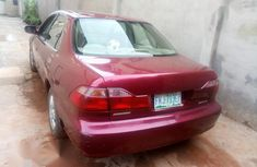 Honda Accord 1999 Red for sale
