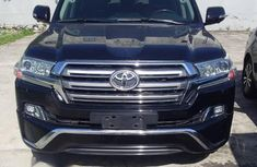 Toyota Land Cruiser 2017 Black for sale
