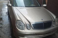 Mercedes-Benz E320 2005 Silver for sale
