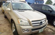 Sell gold 2007 Mercedes-Benz GL450 automatic at price ₦3,500,000