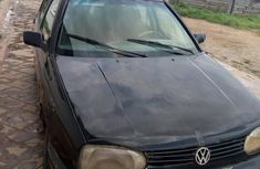Well maintained black 1996 Volkswagen Golf manual for sale