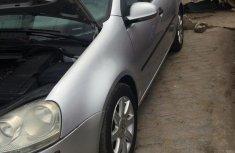 Volkswagen Golf 2005 2.0 FSI Silver for sale