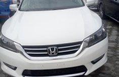 White 2014 Honda Accord sedan for sale at price ₦5,500,000 in Lagos