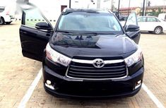 Black 2015 Toyota Highlander at mileage 59,839 for sale in Lagos