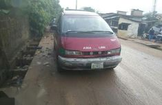 Clean red 1999 Toyota Previa car for sale at attractive price