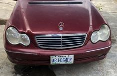 Sell super clean red 2005 Mercedes-Benz C320 automatic
