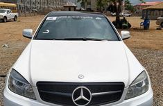 Used white 2008 Mercedes-Benz C300 automatic for sale at price ₦3,700,000