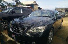 Sell well kept blue 2010 Lexus ES sedan automatic in Calabar