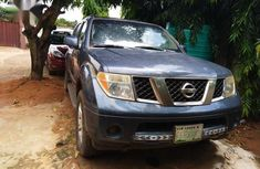 Clean blue 2005 Nissan Pathfinder automatic for sale at price ₦1,450,000